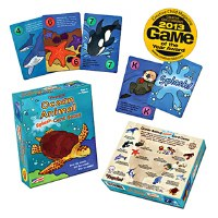 Ocean Animal Splash! Card Game