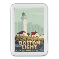 Boston Light Magnet