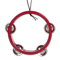 Red Tambourine Ornament