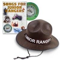 Junior Ranger Hat & Songs for Junior Rangers CD Vol 2