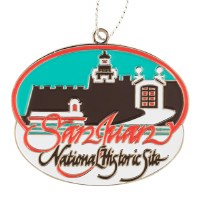 San Juan National Historic Site Ornament