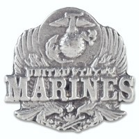 US Marine Corps Pewter Lapel Pin