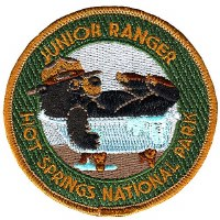 Hot Springs Junior Ranger Patch