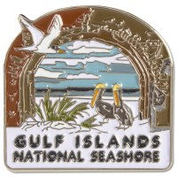 Gulf Islands National Seashore Pin