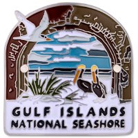Gulf Islands National Seashore Hiking Medallion