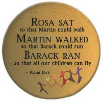Civil Rights Quote Button