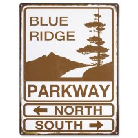 Blue Ridge Parkway Metal Sign