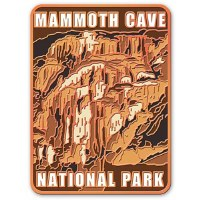 Mammoth Cave Golden Fleece Pin