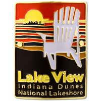 Indiana Dunes National Seashore Lake View Hiking Medallion