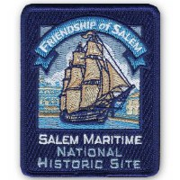 Salem Maritime National Historic Site Embroidered Patch