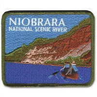 Niobrara National Scenic River Embroidered Patch