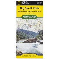 National Geographic Trails Illustrated Map: Big South Fork