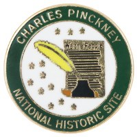 Charles Pinckney National Historic Site Lapel Pin