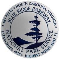 Blue Ridge Parkway Benchmark Magnet