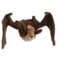 Help Fight White Nose Syndrome Plush Little Brown Bat Toy