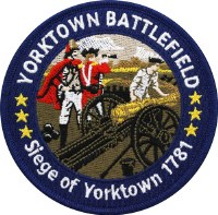 Yorktown Battlefield Embroidered Patch