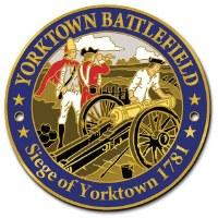 Yorktown Battlefield Hiking Stick Medallion
