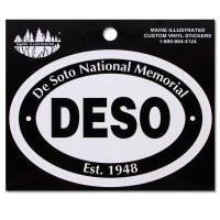 De Soto National Memorial Decal