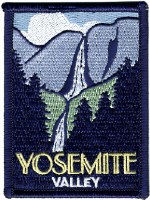 Yosemite Valley Embroidered Patch