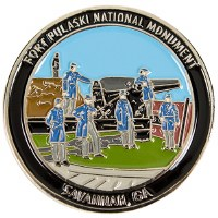 Fort Pulaski National Monument Lapel Pin