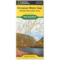 National Geographic Delaware Water Gap Trails Illustrated Map
