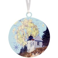 Bass Harbor Head Light Ornament