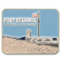 Fort Stanwick Lapel Pin