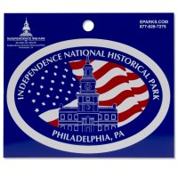 Independence National Historical Park Hall Decal