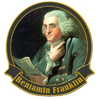 Founding Father Benjamin Franklin Collectible Lapel Pin