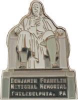 Benjamin Franklin National Memorial Pin