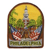 Philadelphia Embroidered Patch