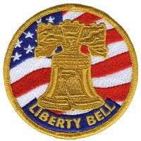 Liberty Bell Embroidered Patch