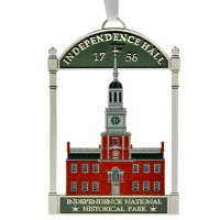 Independence Hall Holiday Ornament
