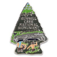 Russell Cave National Monument Lapel Pin