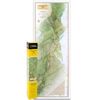 Appalachian Trail Boxed Map