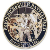 Fredericksburg Battlefield Hiking Stick Medallion