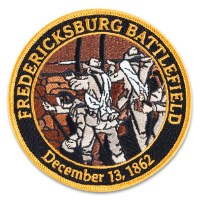 Fredericksburg Battlefield Embroidered Patch