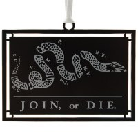 Join, or Die. Ornament