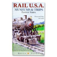 Rail U.S.A. Museum and Trips Eastern States Map