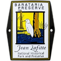 Barataria Preserve Hiking Medallion