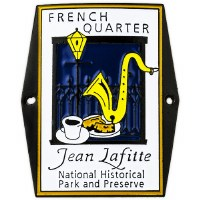 French Quarter Hiking Medallion