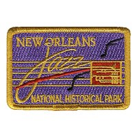 New Orleans Jazz National Historical Park Embroidered Patch