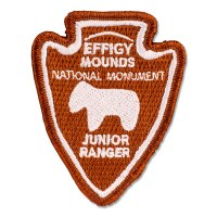 Effigy Mounds Junior Ranger Patch