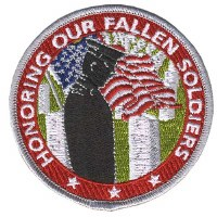 Honor Fallen Soldiers Patch