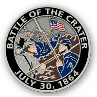 Battle of the Crater Pin