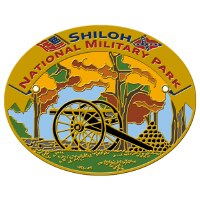 Shiloh National Military Park Hiking Stick Medallion