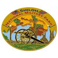 Shiloh National Military Park Hiking Stick Medallion