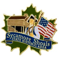 Sycamore Shoals Pin