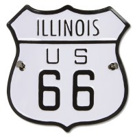 Historic US Route 66 Hiking Medallion