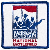 Kennesaw Mountain National Battlefield Embroidered Patch